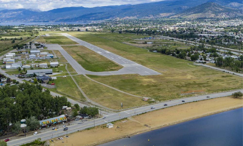 Penticton Airport at Skaha Lake